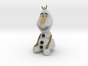 Olaf in Full Color Sandstone