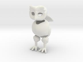 Little Owl BJD in White Natural Versatile Plastic