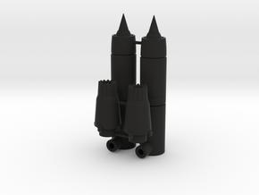 Ramair Engine Boosters in Black Natural Versatile Plastic