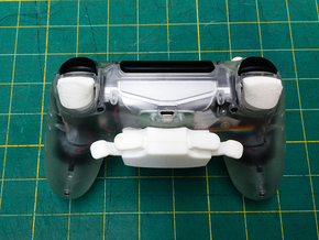 DS4 Face Triggers in White Natural Versatile Plastic