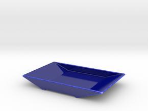 TORii platter in Gloss Cobalt Blue Porcelain