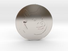 Dogecoin in Platinum
