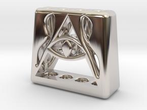 Illuminati 4 Pen Holder in Platinum