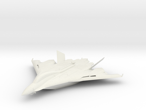 Flight aircraft carrier Type B  WATERLINE (1/3000) in White Natural Versatile Plastic