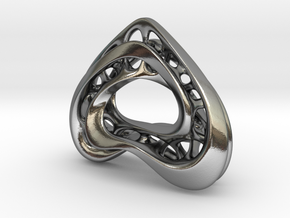 LoveHeart RoyalModel in Polished Silver