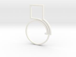 2-sc in White Processed Versatile Plastic