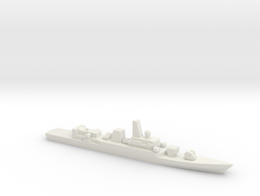 PLA[N] Type 053H2G Frigate, 1/1800 in White Natural Versatile Plastic