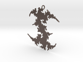 Julia # (Sharp) Pendant in Polished Bronzed Silver Steel