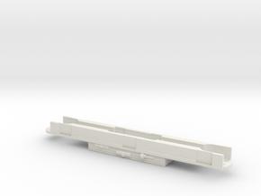 Abde 516 Rahmen Scale TT in White Natural Versatile Plastic
