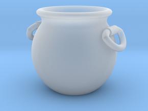 Cauldron Miniature in Smooth Fine Detail Plastic