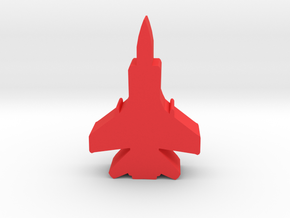 Game Piece, Red Force Foxhound Fighter in Red Processed Versatile Plastic