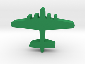 Game Piece, WW2 B-17 Bomber in Green Strong & Flexible Polished