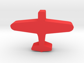 Game Piece, WW2 Kate Carrier Bomber in Red Processed Versatile Plastic