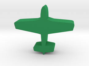 Game Piece, WW2 Mustang Fighter in Green Strong & Flexible Polished