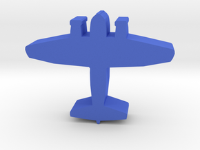 Game Piece, WW2 Junkers Bomber in Blue Processed Versatile Plastic