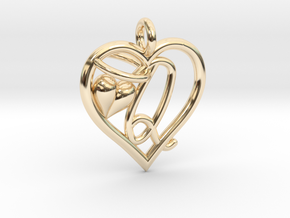 HEART Q in 14K Yellow Gold