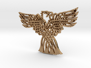 Eagle Pendant in Polished Brass