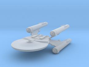 Hawker Class BattleCruiser in Smooth Fine Detail Plastic