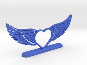 Wing 02 in Blue Strong & Flexible Polished