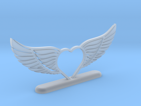 Wing-02 Accessory in Smooth Fine Detail Plastic