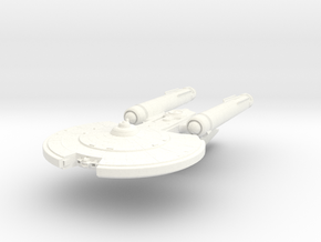 Carter Class V Cruiser in White Processed Versatile Plastic