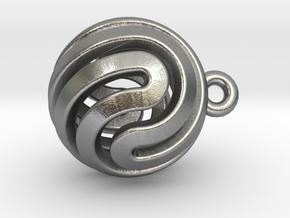 Ball-smaller-14-2 in Natural Silver