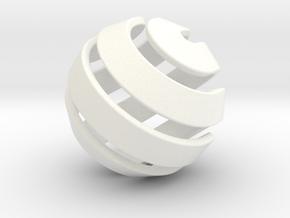 Ball-10-2 big in White Processed Versatile Plastic