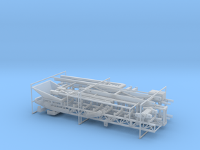 1/64th 80' Rock and materials folding conveyor in Smooth Fine Detail Plastic