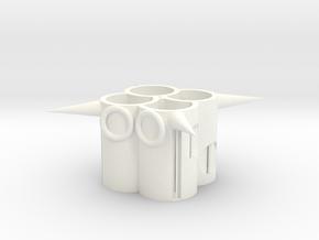 104102310筆筒(2) in White Processed Versatile Plastic