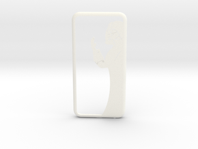 Iphone 6S Case - Darth Vador in White Processed Versatile Plastic