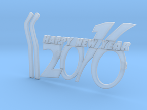 NEWYEAR 2016 FUNKY GLASSES in Smooth Fine Detail Plastic