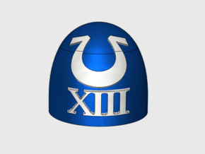 10x Ultra XIII - G:5a Shoulder Pad in Smooth Fine Detail Plastic