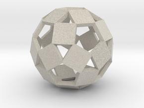Open Rhombicosadodecahedron-Sandstone in Sandstone