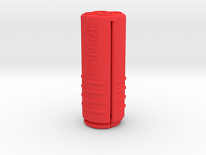 Back Plate Pull Tool in Red Processed Versatile Plastic