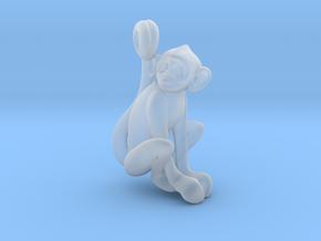 3D-Monkeys 154 in Smooth Fine Detail Plastic