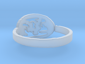 Fire Ring Size 6.5 in Smooth Fine Detail Plastic