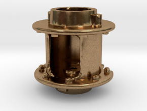 Air Pump - 8 In. -middle .625 Plus 1% in Natural Brass