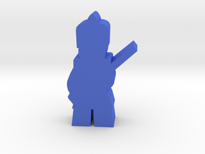 Game Piece, Colonial French Soldier in Blue Processed Versatile Plastic