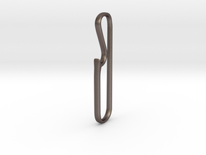 BottleOPener in Polished Bronzed Silver Steel