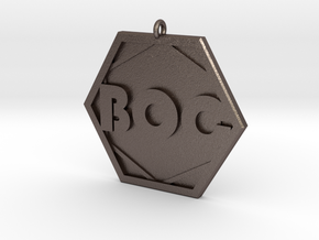 Boards of Canada BOC Pendant in Stainless Steel