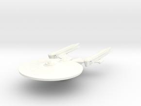 Hood Class Cruiser in White Processed Versatile Plastic
