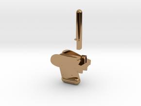 Callistoboje (breit) in Polished Brass
