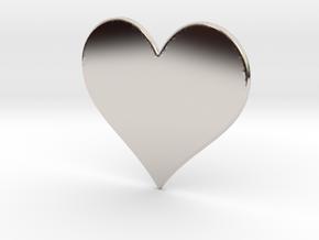 Heart in Platinum