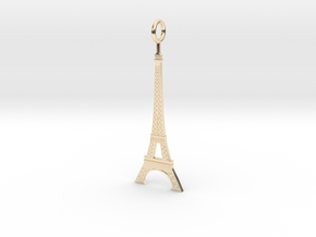 Eiffel Tower Pendant in 14K Yellow Gold