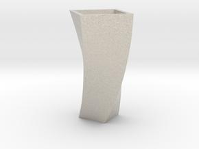 花瓶.STL in Sandstone
