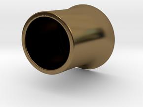 花瓶.stl in Polished Bronze