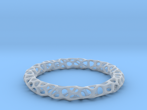 Bracelet Voronoi in Smooth Fine Detail Plastic