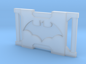 Dark Bat Knight Belt Buckles BB1 1/6TH in Smooth Fine Detail Plastic
