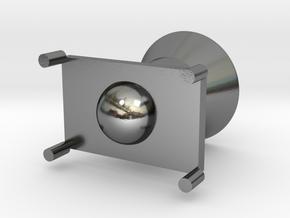 Rocket modeling trash in Polished Silver