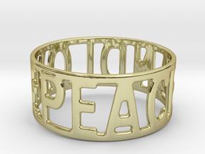 Peaceandlove 68 Bracelet in 18k Gold